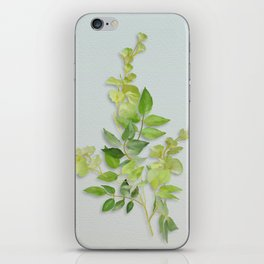 Yellow Tiny Flowers iPhone Skin