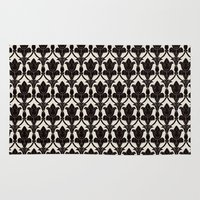 221b Area & Throw Rugs featuring 221B by Jessica Cushen