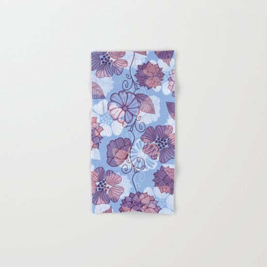 Flower Flow Hand & Bath Towel