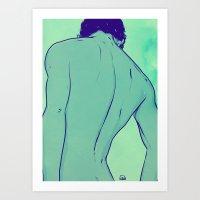 Shoulders 2 Art Print
