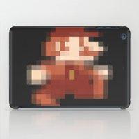 mario iPad Cases featuring Mario by Richard Howard