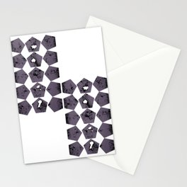 Pentagons of May 30 Stationery Cards