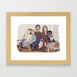 THIS IS US Framed Art Print