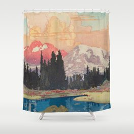 Storms over Keiisino Shower Curtain