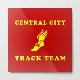 Central City Track Team Metal Print