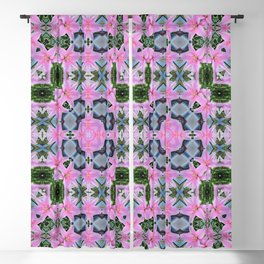 PATTERN LILY ELODIE SINGLE FLOWER Blackout Curtain