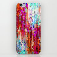 valentines iPhone & iPod Skins featuring Valentines Brunch by Glint & Lime Art