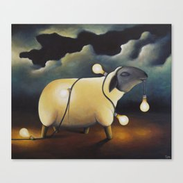 Party Sheep Canvas Print