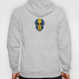 Baby Owl with Glasses and Barbados Flag Hoody