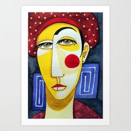 Polkadots Art Print