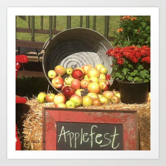 Apple Fest Art Print