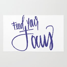 Feed Your Focus Rug