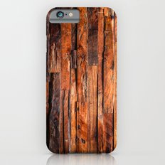 Beautifully Aged Wood Texture iPhone 6s Slim Case