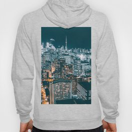 Toronto by night - City at night Hoody