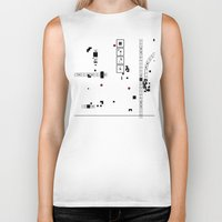 dna Biker Tanks featuring Digital DNA by dBranes