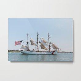 U.S. Coast Guard Eagle  Metal Print