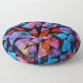 The Colour Of The Sea Floor Pillow