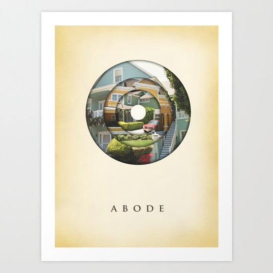 abode Art Print
