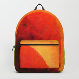Collection beautiful colorful autumn leaves Backpack