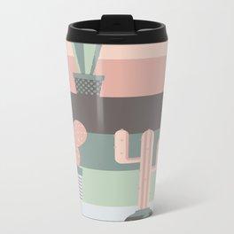 cacti colors Metal Travel Mug