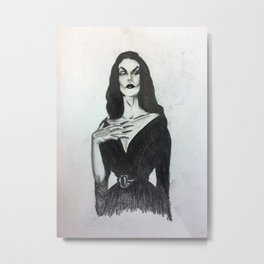 Sexy Creep Metal Print