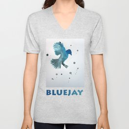 Bluejay Unisex V-Neck