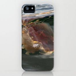 Surfing Jellyfish iPhone Case