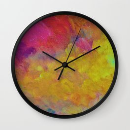 Moonlight Sky Wall Clock