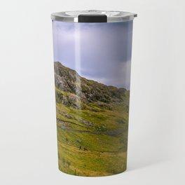 Late summer in Snowdonia, Wales Travel Mug