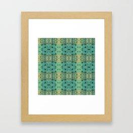 maculis_pattern no1 Framed Art Print