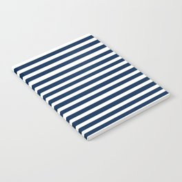 Navy-White ( Stripe Collection ) Notebook