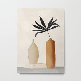 Vase Decoration Metal Print