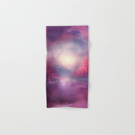 Calling The Sun XVIII Hand & Bath Towel