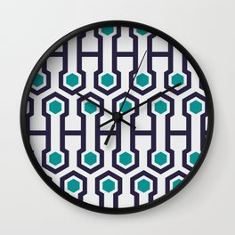 Magna Timberwolf #society6 #decor #buyart #artprint Wall Clock