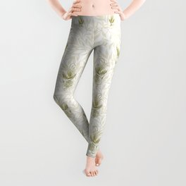 Art Deco Diva Rivalry Leggings