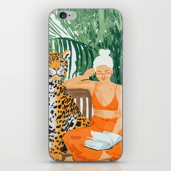 Jungle Vacay #painting #illustration iPhone Skin