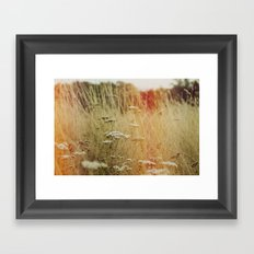 painting the air Framed Art Print