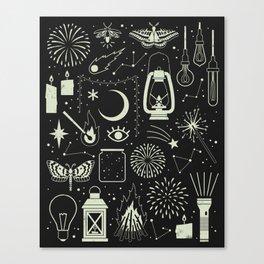 Light the Way: Glow Canvas Print