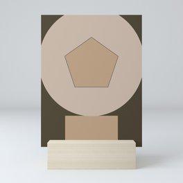 geometric art 01 Mini Art Print