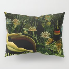 "Henri Rousseau ""The dream"", 1910 Pillow Sham"