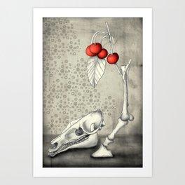 Cerasus Domestica Art Print