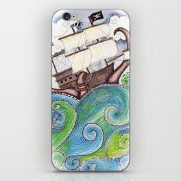 Pirate Peril iPhone Skin