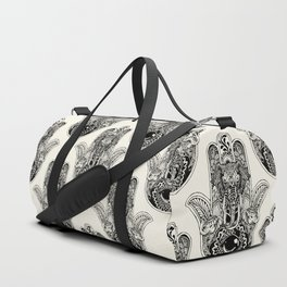 Hamsa Hand Elephant Duffle Bag