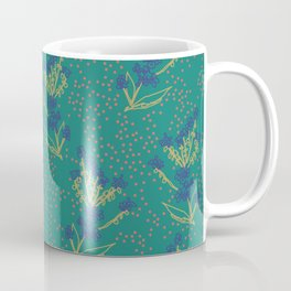 Forget Me Not Dot Coffee Mug