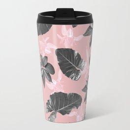 Tropical pink Travel Mug