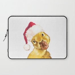 Christmas yellow duckling Laptop Sleeve