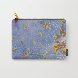 Blue Jungle Carry-All Pouch