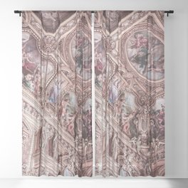 Rose Gold Luxury Sheer Curtain