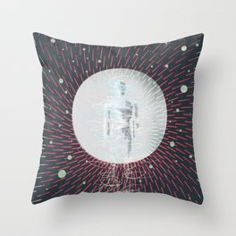 Teleportation - A Better Way to Travel Throw Pillow