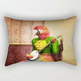 Banjo Birdy Plucks a Pretty Tune! Rectangular Pillow